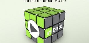 Un rubik cube 3×3 pour les vœux de 2011