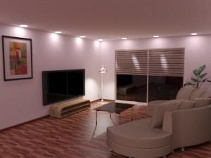 Simulation d'éclairage 3D